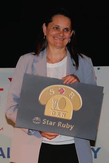 Eine erfolgreiche Rentnerin. Ein Star Ruby in unserem Team.