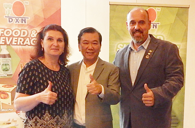 Ganotherapie mit Dr. Lim in Deutschland. Am 15. 10. 2016.