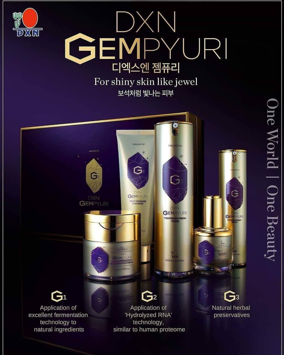 DXN Beauty - Die neue Kosmetik Produktfamilien mit Reishi Pilz Extrakt